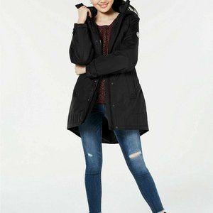 Madden Girl Hooded Faux-Fur-Trim Parka  Juniors